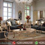 Kursi Sofa Tamu Set French Style Classic Ukiran Mebel Jepara Mewah Terbaru SRT-153
