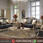 Kursi Sofa Tamu Set Klasik Italian Style Mewah Terbaru SRT-138