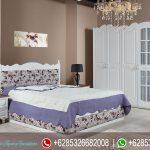 Set Kamar Tidur Minimalis Modern Putih Model Eropa Sehratzat Mewah Terbaru KT-155