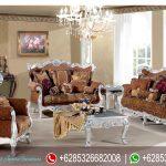 Set Kursi Sofa Tamu Ukiran Mewah Klasik Silver Murah Terbaru Chessy SRT-168