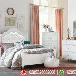 Set Kamar Tidur Putih Minimalis Modern Berkualitas Bagus Murah Terbaru Olivia KT-184
