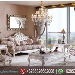 Kursi Sofa Ruang Tamu Set Mewah Model Eropa Klasik Ukiran Jepara Terbaru Evinza SRT-216