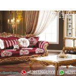 Kursi Sofa Ruang Tamu Ukiran Mewah Model Klasik Terbaru Padisah SRT-203