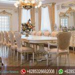 Set Kursi Makan Mewah Klasik Model Eropa Terbaru Barokko MM-255