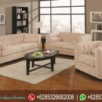 Set Kursi Sofa Minimalis Jepara Natural Jati Model Terbaru Alexis SRT-225