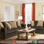 Set Sofa Ruang Tamu Jati Minimalis Modern Mewah Terbaru Scandinavian SRT-176
