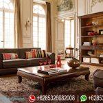 Sofa Tamu Minimalis Modern Model Klasik Mebel Jepara Jati Terbaru Vintage SRT-186